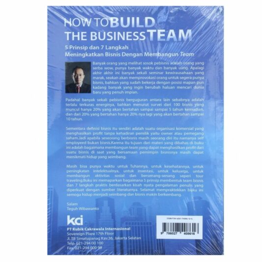 Buku How to Build The Business Team
