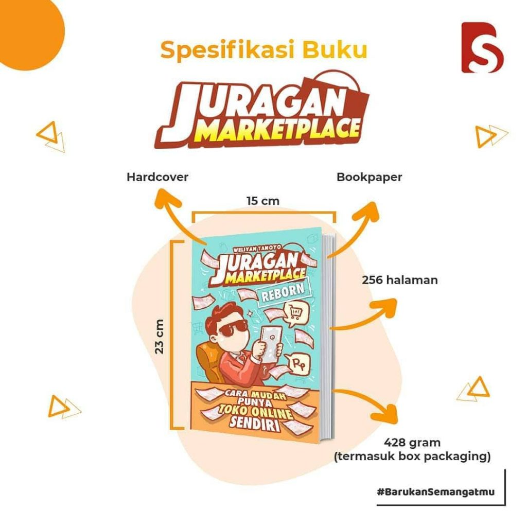 Detil Buku Juragan Marketplace