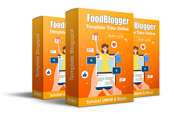 Template FoodBlogger